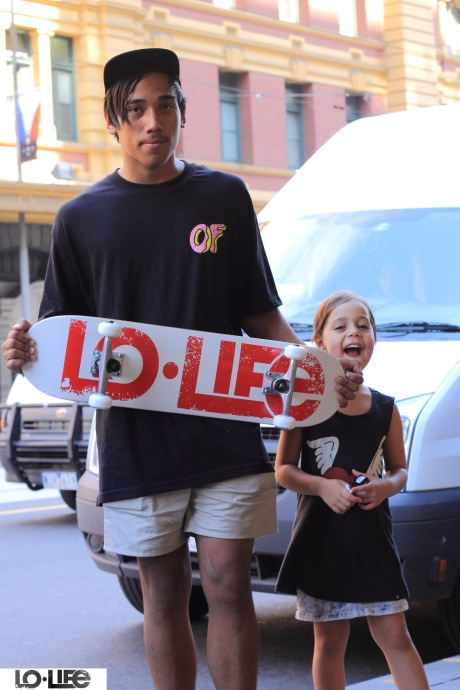 Homie Jarden and little Shanti from Perth.